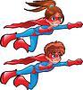 Junge Superhelden