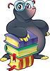 Моль с книгами