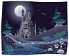 Nightly Panorama mit Schloss