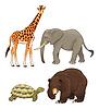 ID 3497641 | Dzikie zwierzęta | Klipart wektorowy | KLIPARTO