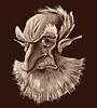 Alte elf Porträt