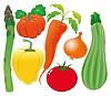 Gemüse Familie
