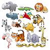 Savannah Tierfamilie