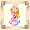 ID 3525088 | Lustige Princess | Stock Vektorgrafik | CLIPARTO