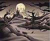 Horror-Landschaft