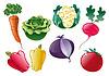 Tomaten und Gurken