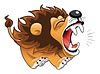 ID 3528368 | Barking lwa | Klipart wektorowy | KLIPARTO