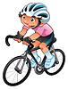 Baby-Radfahrer