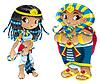 Cleopatra und Pharao