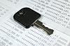 ID 3690436 | Key on account passbook | Foto stockowe wysokiej rozdzielczości | KLIPARTO