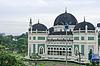 메단에있는 알 - Mashun의 그레이트 모스크 | Stock Foto