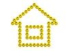 ID 3477901 | 3D Haus Spaß smilies | Illustration mit hoher Auflösung | CLIPARTO