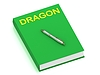 ID 3600673 | DRAGON name on cover book | 높은 해상도 그림 | CLIPARTO