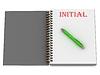 ID 3601639 | WSTĘPNE napis na stronie notebooka | Stockowa ilustracja wysokiej rozdzielczości | KLIPARTO