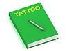 ID 3602698 | Nazwa tatuaż na okładce książki | Stockowa ilustracja wysokiej rozdzielczości | KLIPARTO