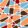 ID 3481381 | Abstract mosaic background in shape of square | Klipart wektorowy | KLIPARTO