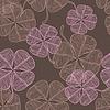 abstrakten Klee. (Seamless Pattern)
