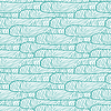 Seamless abstract pattern, waves background