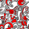 Seamless wave pattern. Abstract background