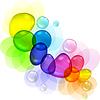 ID 3504018 | Streszczenie kolor z bąbelkami i krople przejrzyste | Klipart wektorowy | KLIPARTO
