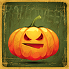 ID 3504208 | EPS10 vintage grunge alten Karte. Halloween-Kürbis | Stock Vektorgrafik | CLIPARTO