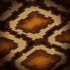 Python-Schlangenleder als brauner Hintergrund