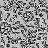 Vintage tle koronki z kwiatów ozdobnych | Stock Vector Graphics