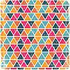 Abstrakcyjna tła retro geometryczny porysowany | Stock Vector Graphics