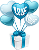 Balony w kształcie serca | Stock Vector Graphics