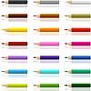 Sammlung von Buntstiften