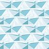 Nahtlose geometrische Muster mit Origami Boote