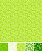 Sammlung von Klee Muster für Saint Patrick Day | Stock Vektrografik