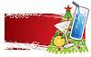 Weihnachts-Banner | Stock Vektrografik