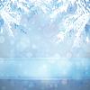 크리스마스 트리 분기와 크리스마스 배경 | Stock Vector Graphics