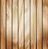 나무 상세한 질감 벽 패널 | Stock Vector Graphics