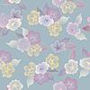 꽃 원활한 패턴 아름다운 꽃 | Stock Vector Graphics