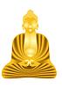 Golden Buddha | Stock Vektrografik