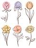 Цветок набор | Векторный клипарт