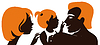 ID 3512848 | Family. Silhouette von Eltern mit Baby | Stock Vektorgrafik | CLIPARTO