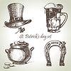 St. Patrick `s Day-Set. s