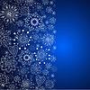 blaue vertikale cristmas Hintergrund
