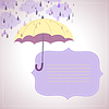 ID 3535966 | Hintergrund für Nachrichten mit gelben Regenschirm | Stock Vektorgrafik | CLIPARTO