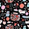 ID 3554260 | Textur der Katzenliebhaber | Illustration mit hoher Auflösung | CLIPARTO