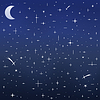 Nocne niebo | Stock Vector Graphics