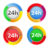 24 Stunden - Icons
