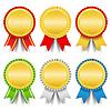 Złote Medale | Stock Vector Graphics