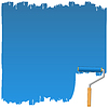 Malować wałkiem | Stock Vector Graphics