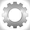 Gear icon | Stock Vector Graphics