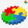 Puzzle ze strzałkami | Stock Vector Graphics