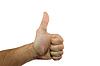 ID 3540164 | Finger nach oben | Foto mit hoher Auflösung | CLIPARTO